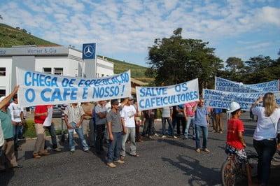 Manifestações em Realeza Café 3 - 01/07 - Portal Caparaó