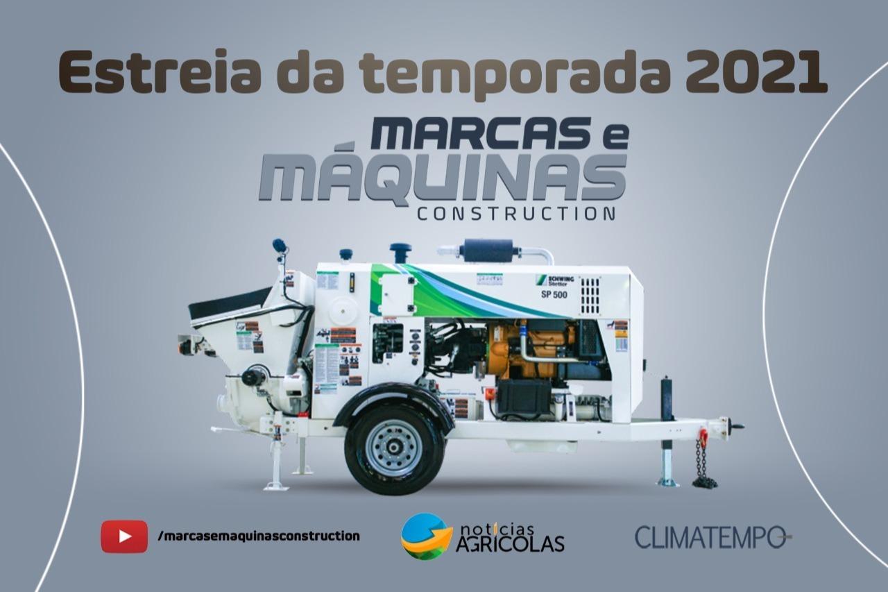 marcas e maquinas construction