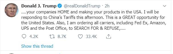 Tweet Trump 3