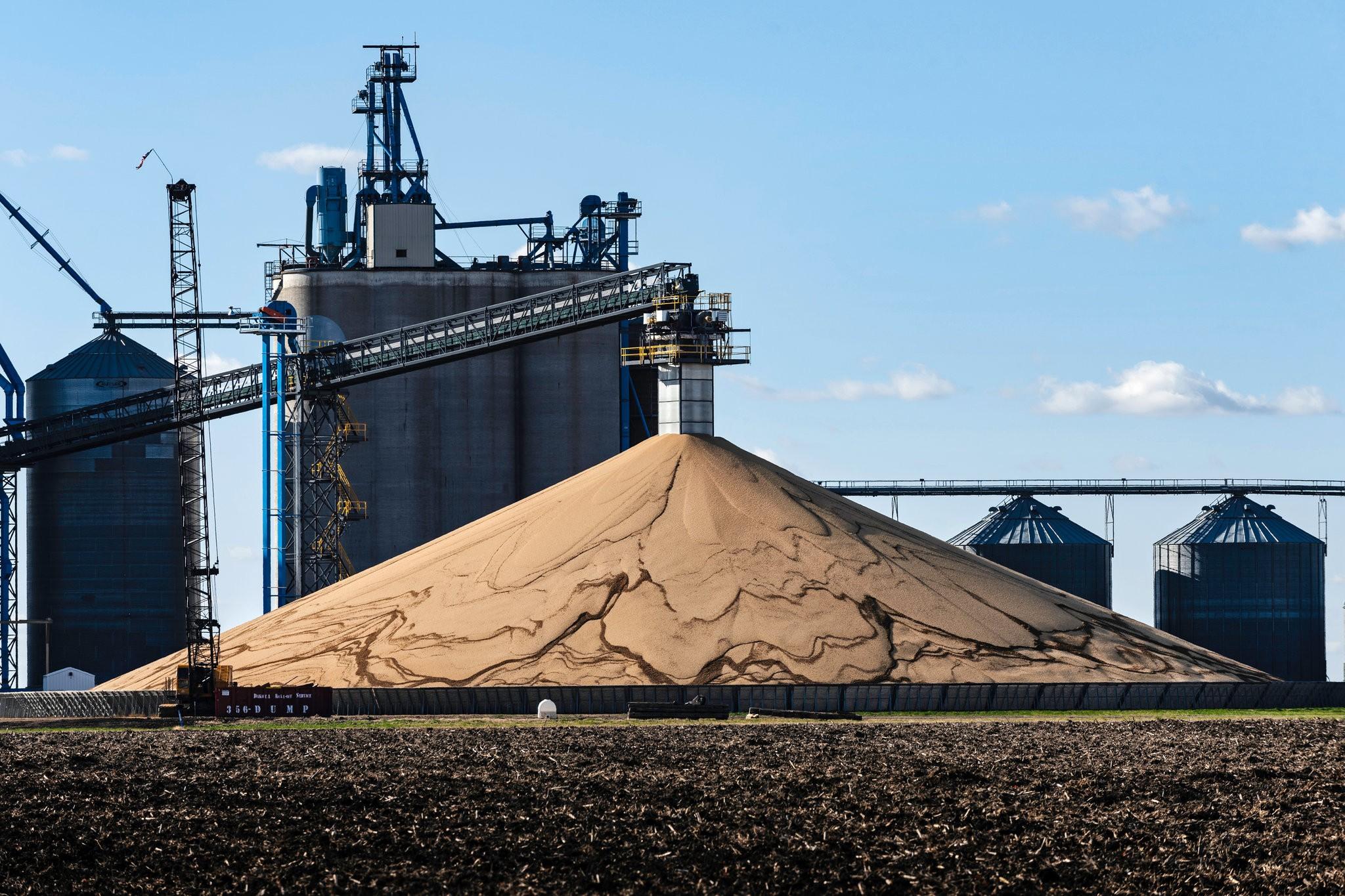 Pilha de soja nos EUA - The New York Times
