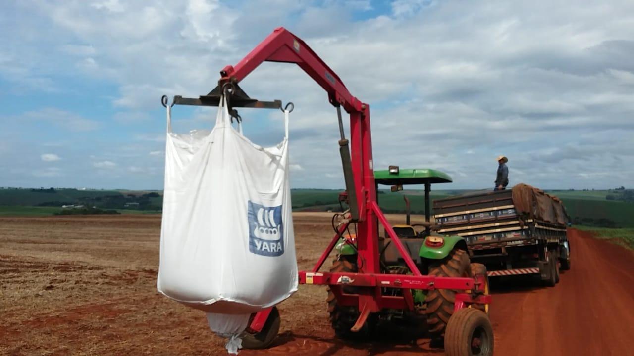 Plantio de milho safrinha em Nova Aurora (PR). Envio do Técnico Agrícola David Clemente