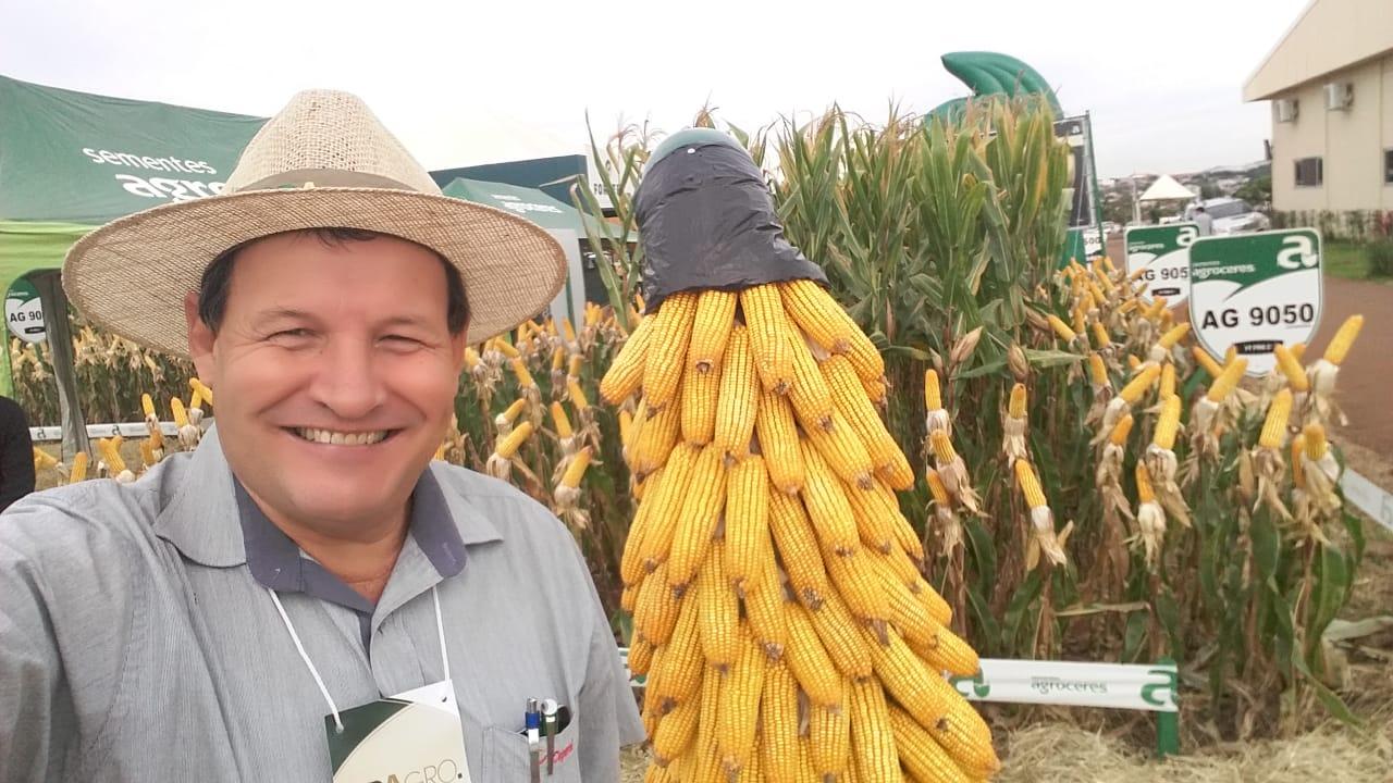 Dia de Campo da Copacol em Cafelândia (PR). Envio do Técnico Agrícola da Copacol David Clemente.