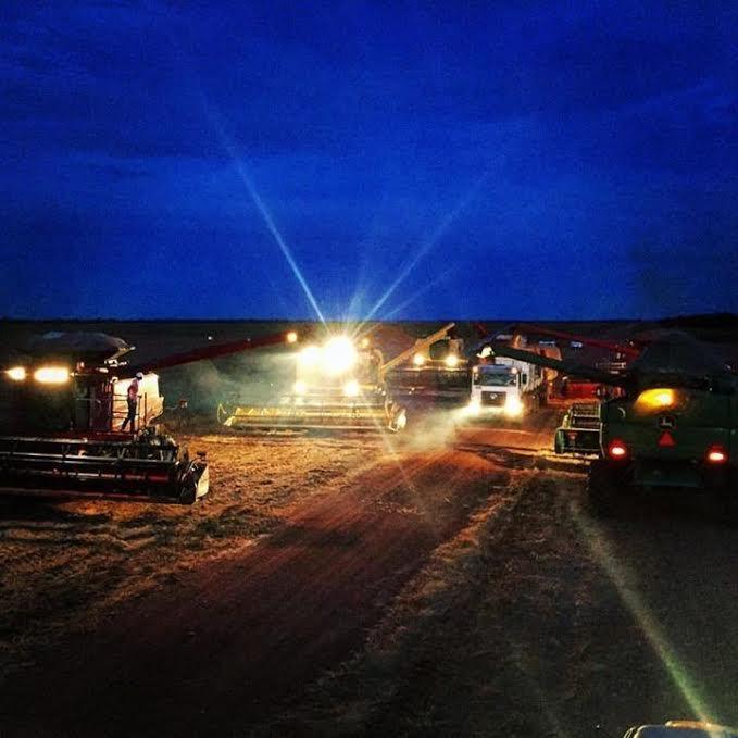 Imagem do dia - Colheita da soja em Santana do Araguaia (PA), na Fazenda Cristo Rei. Enviado por Daniel Nunes