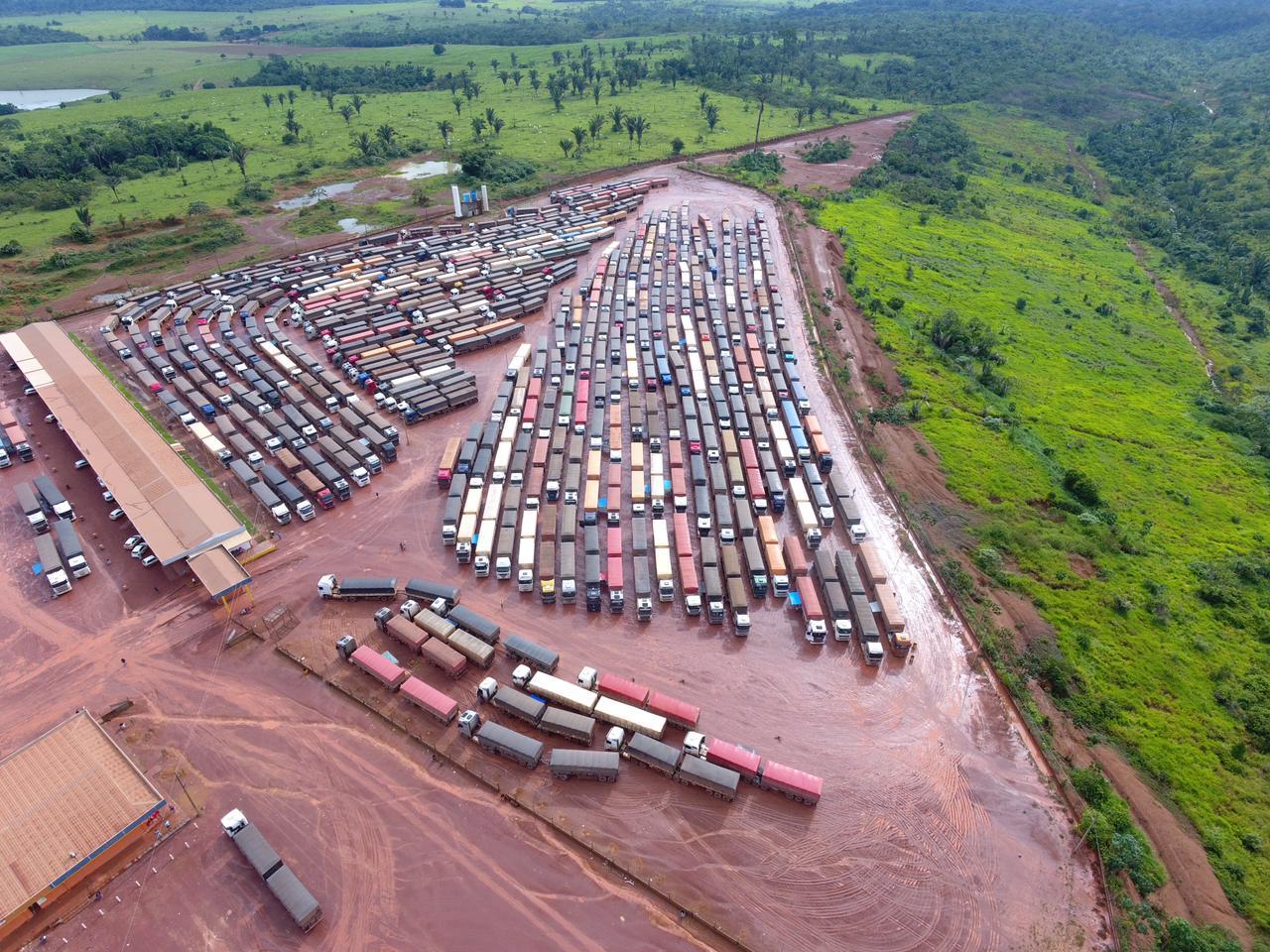Posto Trevão, em Miritituba, no Pará, nesta quinta-feira (18) - Foto: Divulgação