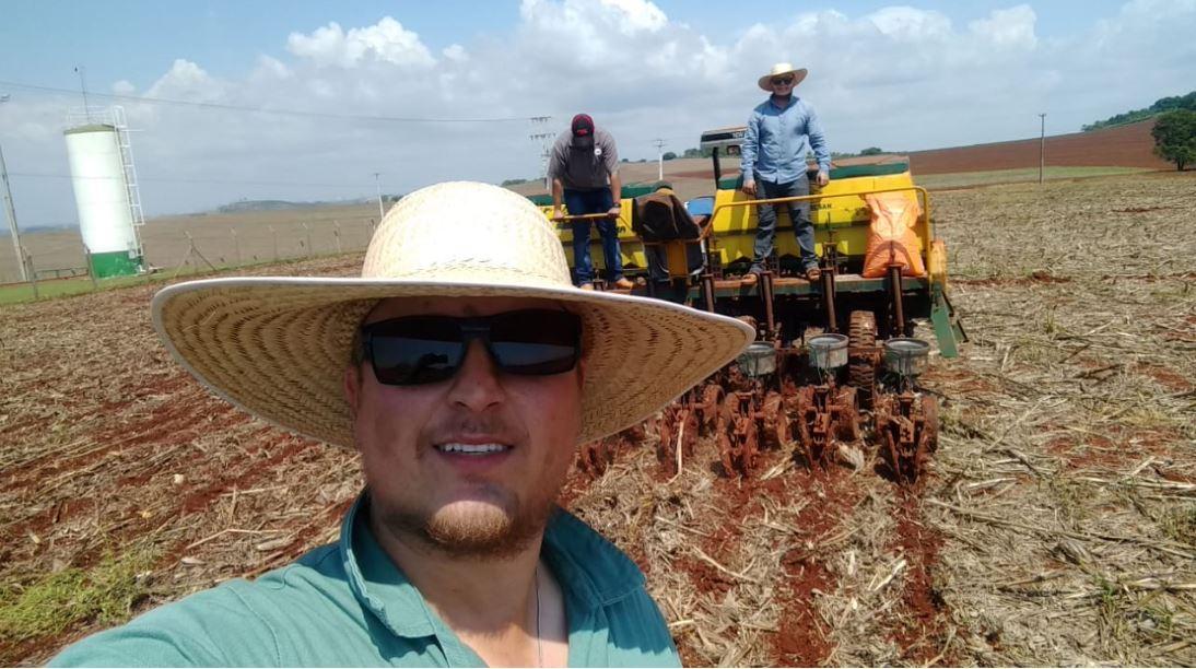 Plantio de soja KWS Sementes em Ibiporã (PR). Envio de Diogo Meneghel
