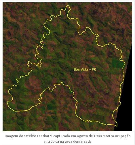 Ocupação de Área no PR - Imagem: Blog Questão Indígena