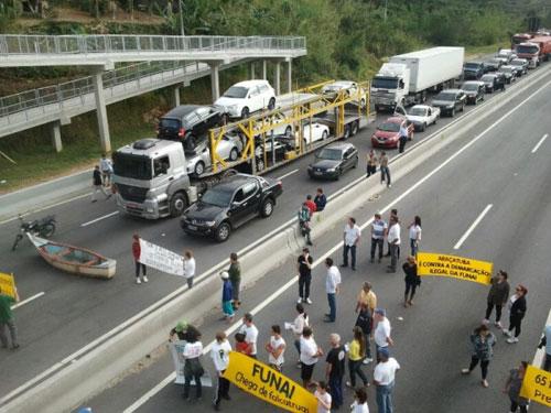 Manifestação em Palhoça/SC