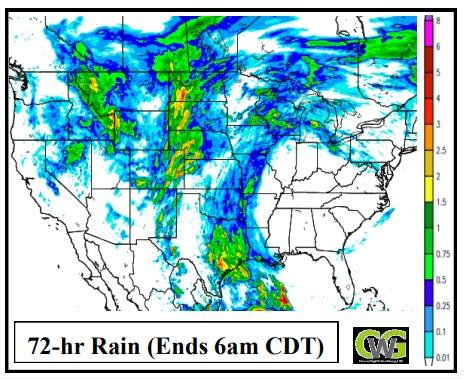 Mapas CWG - Clima nos EUA