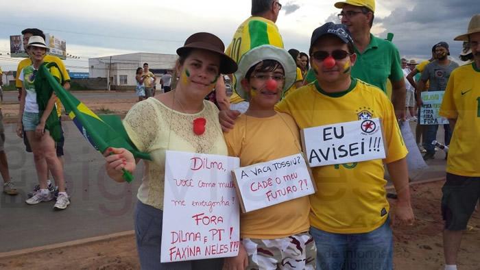 Protestos -  Luis Eduardo Magalhães (BA), imagem do blog Sigi Vilares