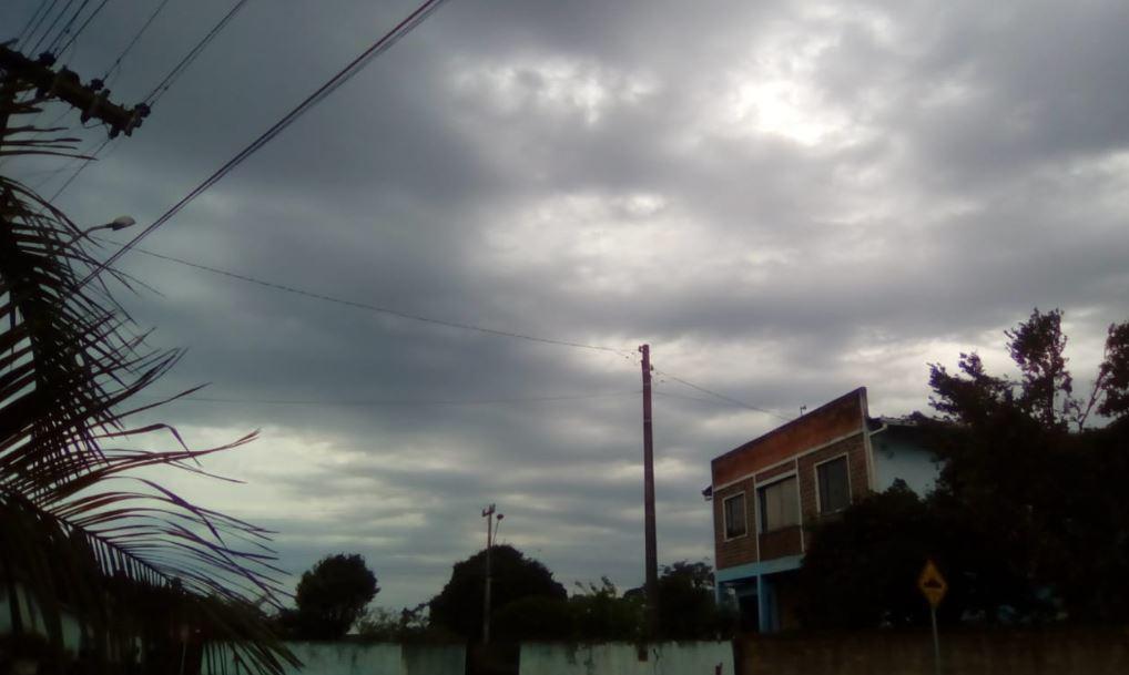 Temporal em formação em Itaiópolis (SC). Envio de Paulo Marcelo Adamek