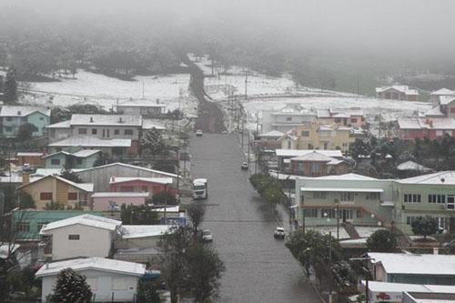 Neve no sul - 27/08 - Ibiraiaras