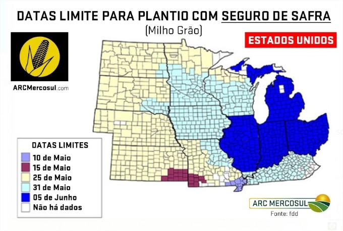 Data plantio Milho ARC