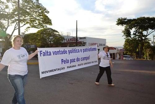 Manifestação em Guaira/PR 4