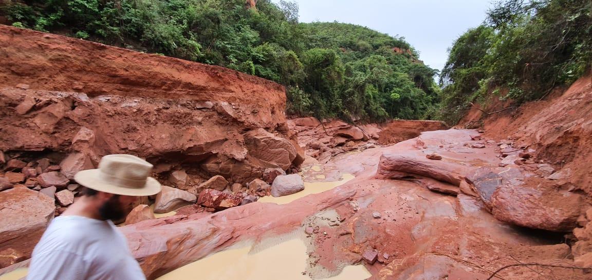 Serra das Laranjeiras/PI - Chuvas