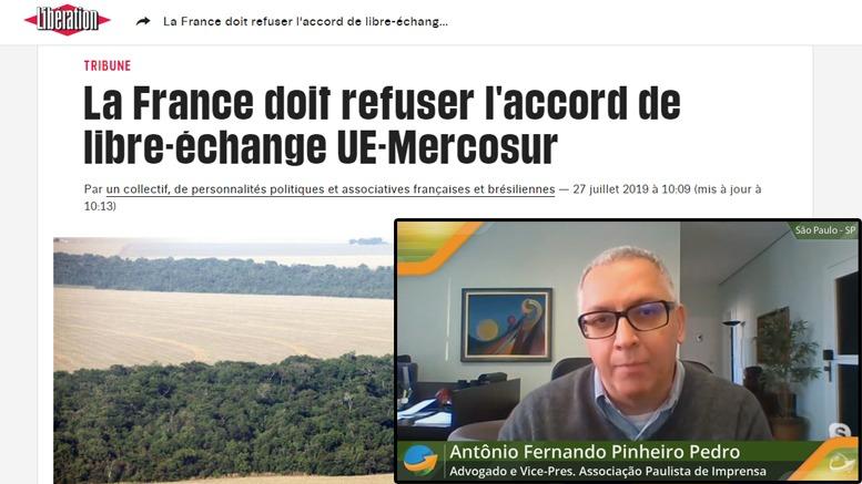 Dr. Pinheiro Pedro e jornal Liberatión