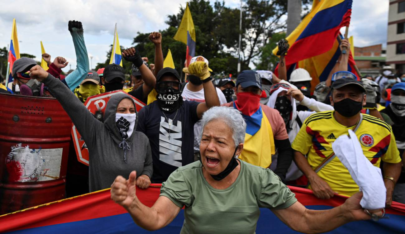 Apesar das conversas, Comitê de Desemprego anuncia marchas para 26 e 28 de maio / Getty Images - Luis Robayo