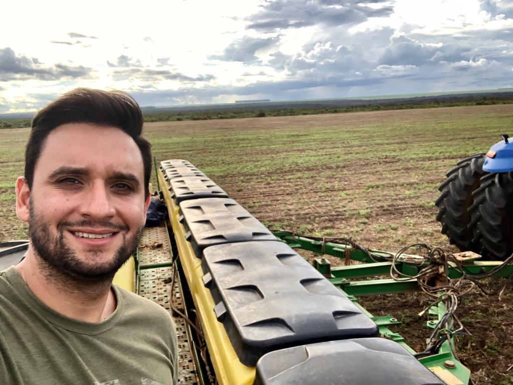 Plantio de Milho Segunda Safra em Diamantino/MT - Nivaldo Forastieri