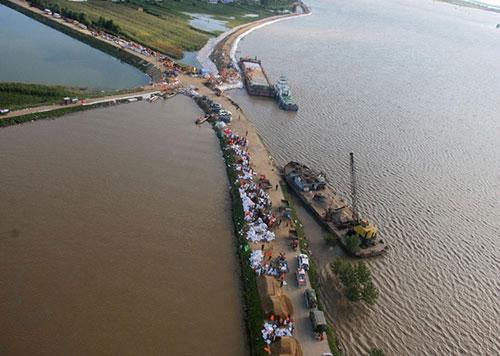 Enchente na China 3