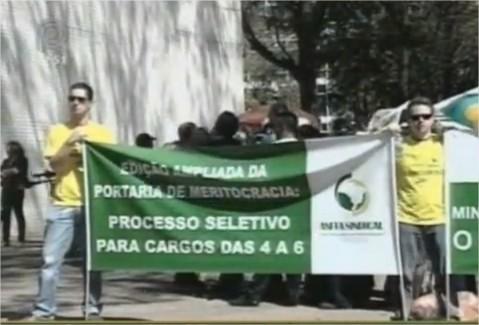 Fiscais agropecuários em greve 2