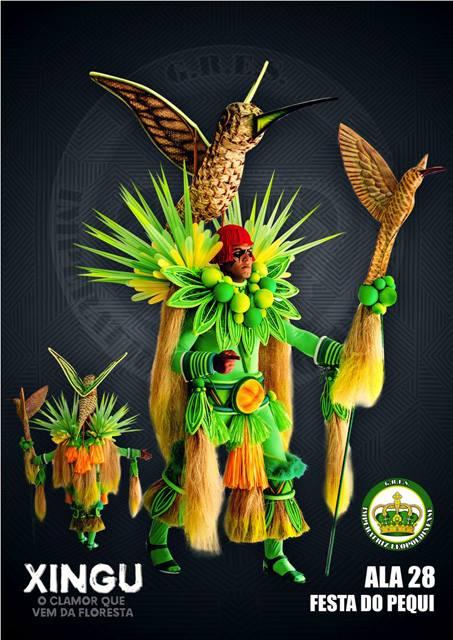 Fantasias Imperatriz Leopoldinense - Carnaval 2017
