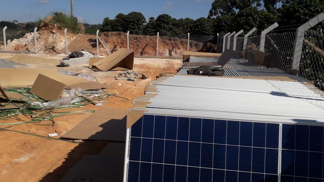 Usina Fotovoltaica - Café - Nova Resende