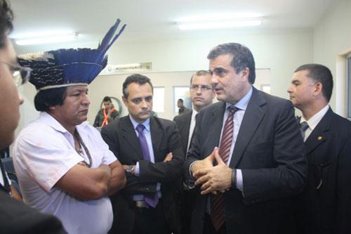 Ministro chega a Campo Grande - Canal Rural