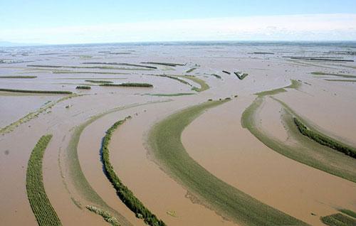 Enchente na China 5