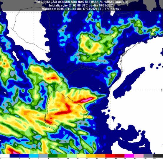 chuvas no Sul - 7 dias - 1003