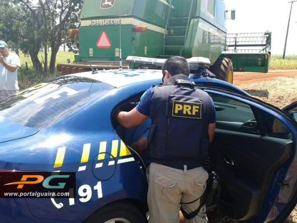Produtor preso em Guaíra/PR