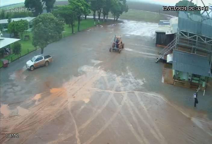 Chuvas lavoura de soja em Sorriso, Nova Ubiratã e Vera/MT Envio de Tiago Stefanello Nogueira
