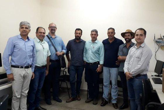 Novos membros do Conselho do Café da AMOG - Foto: Valéria Vilela