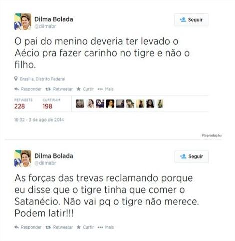 Twitter - Dilma Bolada