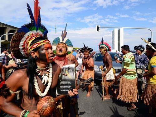 Índios tomam a Esplanada - 3