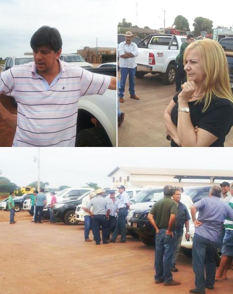 Produtores estão reunidos para decidir ações de protesto, em Sidrolândia. - https://www.midiamax.com.br/