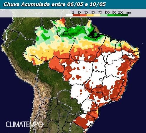 Mapa Climatempo