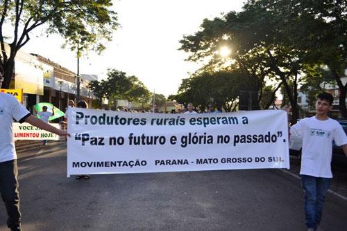 Manifestação em Guaira/PR 3
