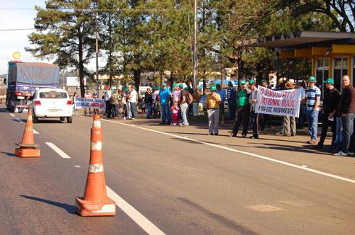 Manifestação em Laranjais do Sul/PR 2