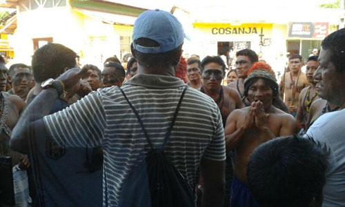 Jacaré Manifestação
