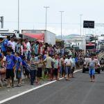 Greve RS - Protesto em rodovia em Três Cachoeiras (RS). Foto: Tadeu Vilani / Agencia RBS