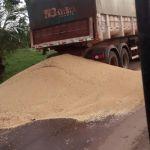 Greve dos caminhoneiros em Diamantino (MT). Imagem do produtor rural, Altemar Krolling