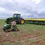 Plantio do milho safrinha em Boa Esperança do Norte (MT), do produtor Joelson Zanatta