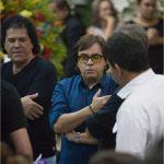 Chitãozinho comparece ao velório do cantor José Alves dos Santos, conhecido como José Rico, na Câmara Municipal de Americana (SP). MARIO ÂNGELO/SIGMAPRESS/ESTADÃO CONTEÚDO
