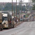 Greve de caminhoneiros em Mato Grosso já dura seis dias (Foto: Reprodução/TVCA) - G1 MT