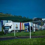 Outros estados também sentem efeitos da paralisação. Trecho de rodovia próximo a Chapecó (SC) - Bruno Covello / Gazeta do Povo