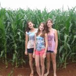Olivia Carolina, Paula Cristina e Rafaella na Fazenda Pântano em Conceição das Alagoas (MG)