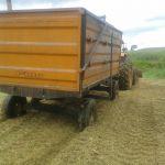 Colheita de milho para silagem em Cacaulândia (RO), do proprietário Sr. Grecio