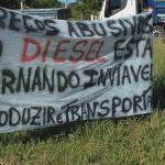 Greve RS - Protestos de caminhoneiros voltam a bloquear rodovias do RS nesta quarta-feira (Foto: Reprodução/RBS TV)