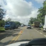 Greve RS - Paralisação dos caminhoneiros em Cachoeira do Sul (RS). Envio de Taylor Peruffo