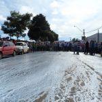 Greve PR - Ruas de Pitanga ficaram brancas em virtude de prostestos. Divulgação / Facebook