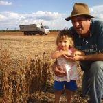 Final da colheita da soja em Mangueirinha (PR). Envio de Claudio Calgaro